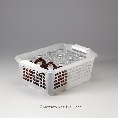 Item 18325 Flip And Stack Storage Basket Medium 12x4 5x8