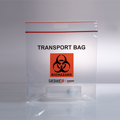Item 18359 Biohazard Transport Bags 12 3 4 X 12 X 6