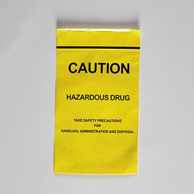 Item 18487 Caution Hazardous Drug Bags 4 X 6