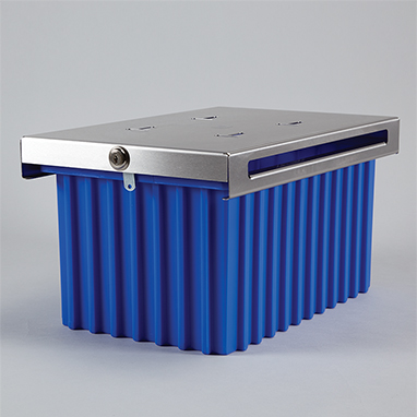 Item 3692 - Extra Large Refrigerator Storage Box, Single Lock