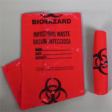 Item 9926 Biohazard Bags 3 Gallon