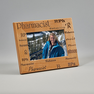 Pharmacist/'s Personalized Marble Photo Frame