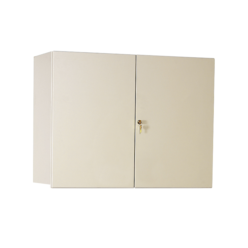 Item 5098 Wall Cabinet With Locking Overhang Doors 36 Inch